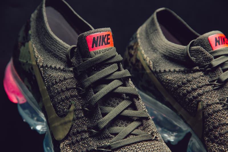 Nike Air Vapormax Flyknit Neutral Olive sneaker