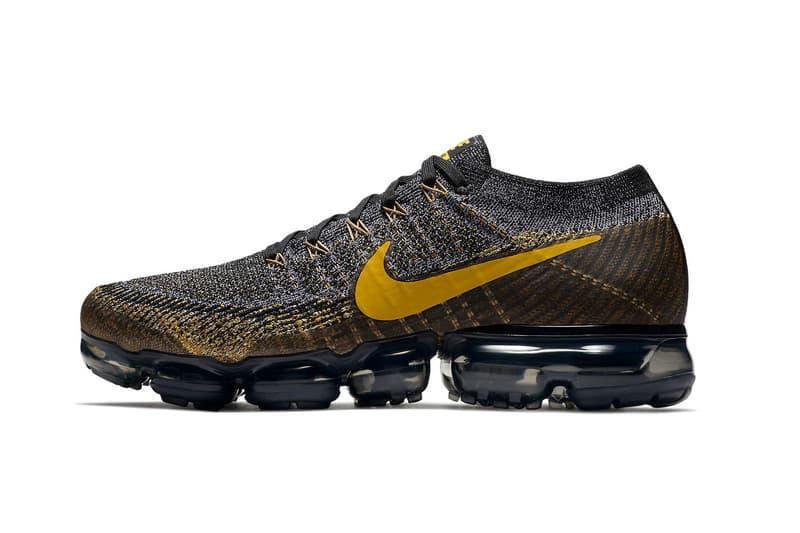 online store b1278 3badb Nike Air Vapormax Mineral Gold Black Dark Grey