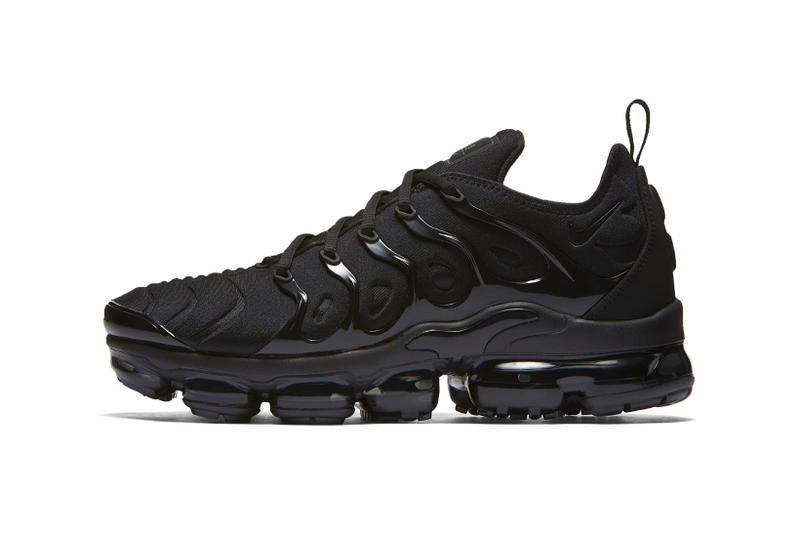 Nike Air Vapormax Plus Triple Black 2018 January 25 Release Date Info Official Images footwear sneakers shoes