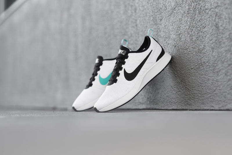 Nike Dualtone Racer Returns in White Black Teal  dc42a0a5297
