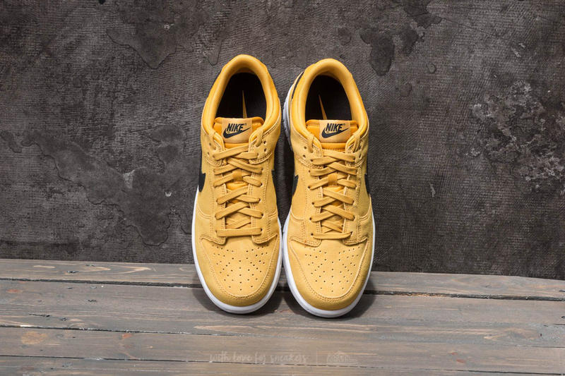 Nike Dunk Low Mineral Yellow Terra Orange