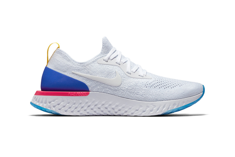 new product 6342a 7690b Nike Reveals Epic React Flyknit Running Shoe  HYPEBEAST