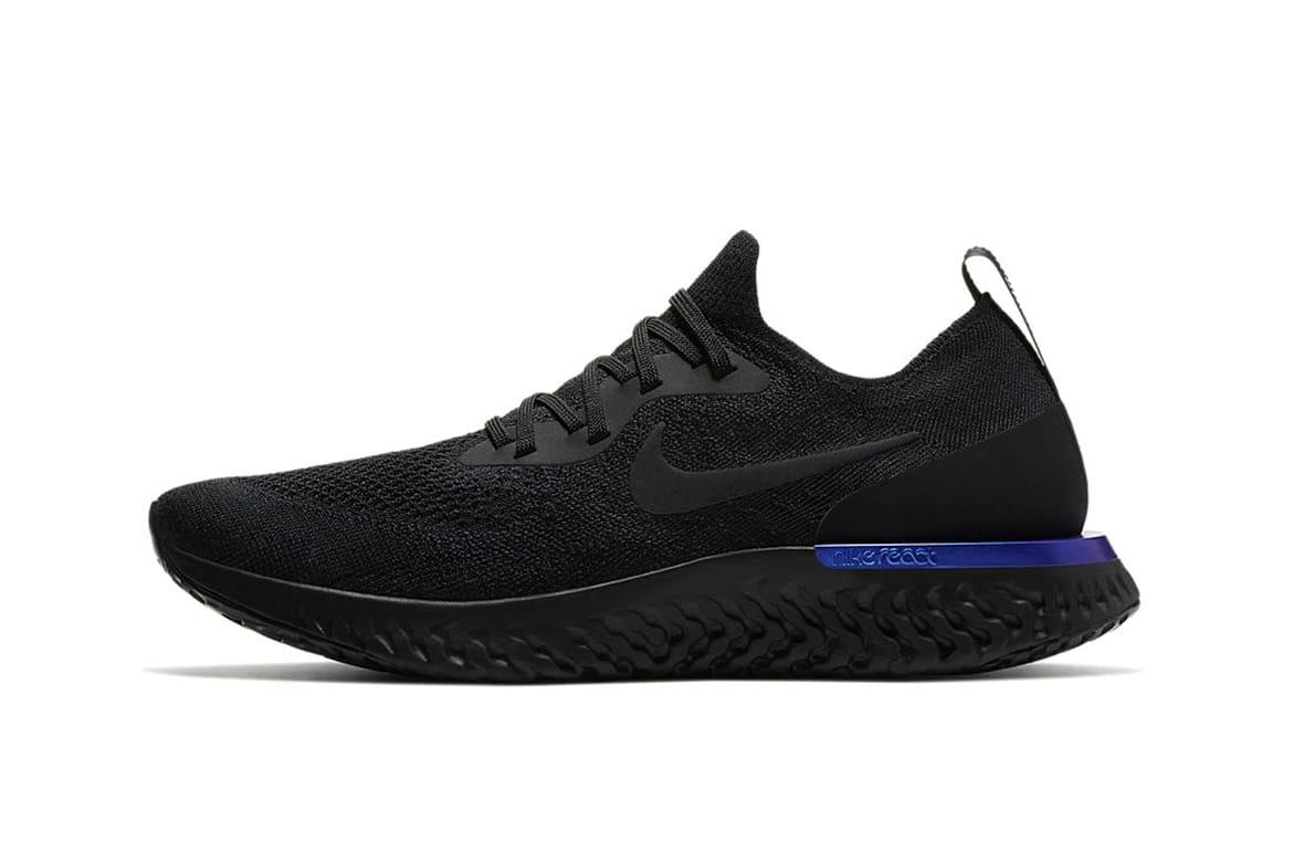 "Nike Epic React Flyknit ""Black/Racer"