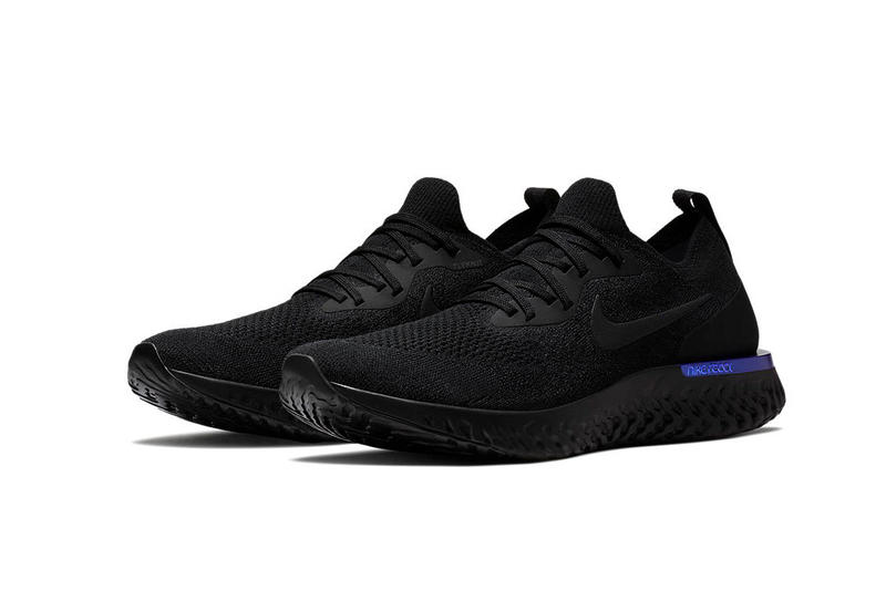 Nike Epic React Flyknit Black Racer Blue February 22 2018 Release