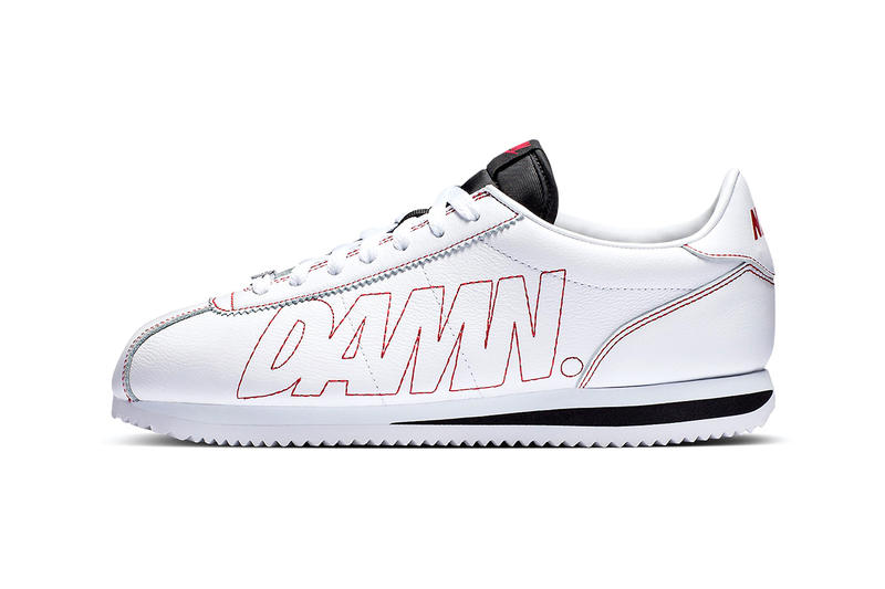 Kendrick Lamar DAMN. Nike Cortez Kenny I NCAA