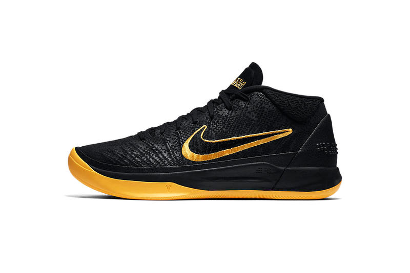 c5515e17cbd7 Nike Kobe AD Black Mamba university gold black Kobe Bryant footwear release  date info drops January