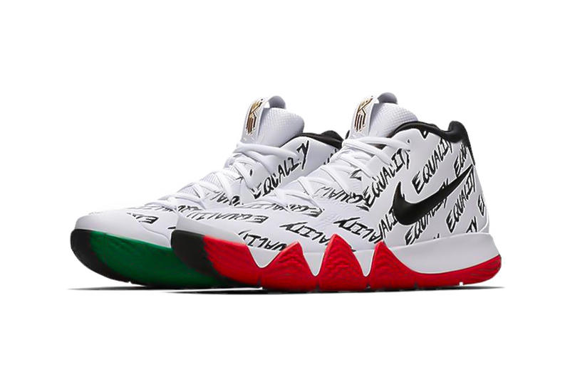 4ffe3c59def6 Nike Kyrie 4 BHM Black History Month Equality
