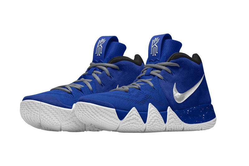 Nike Kyrie 4 NIKEiD Kyrie Irving basketball footwear Sneakers Shoes