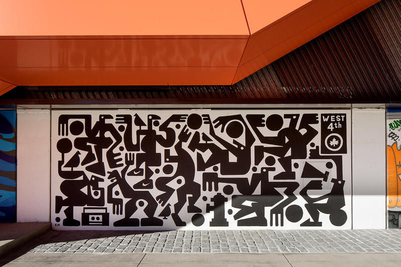 Nike NYC Garage Murals Artwork Art Stash Felipe Pantone FAUST Grotesk SP One CHINO BYI GOREY DAIM Tones One Gary Stranger Yoon Hyup SPETO Claw Money Nardstar Paola Delfin Hueman Ashley Montague