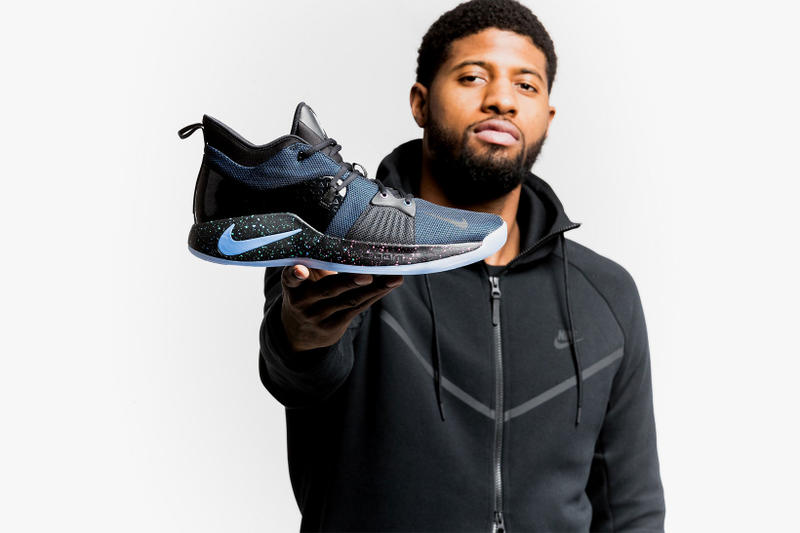 Nike PG2 Paul George Nike Basketball footwear oklahoma city thunder sneakers NBA Sony PlayStation PS2