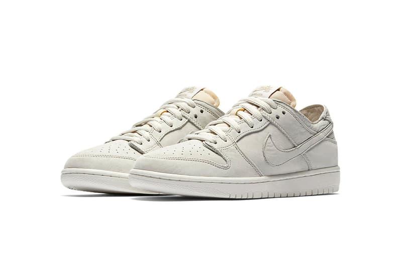 Nike SB Dunk Low Decon Light Bone Summit White footwear Release Date Drops Info January 11 2018 SNKRS