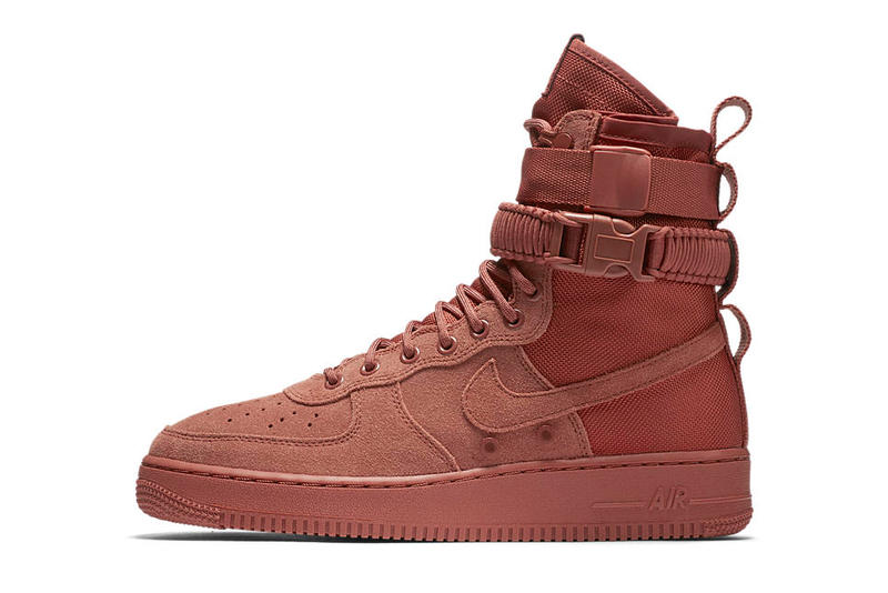 the latest caae0 057c6 Nike Special Field Air Force 1 SF AF1 Dusty Pink Drop Colorway 2018 January  12 Release