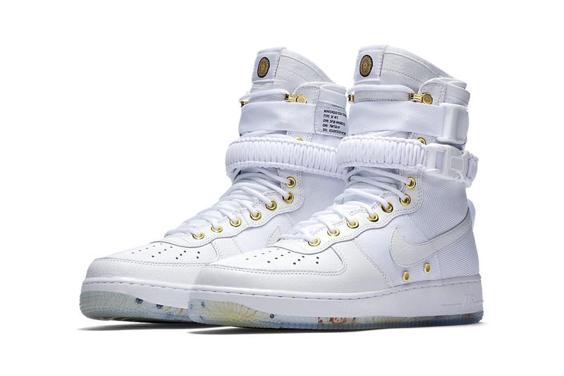 the latest f36c2 bd537 Nike SF AF1 Chinese Lunar New Year 2018 Release Date Info Sneakers Shoes  Footwear White Gold