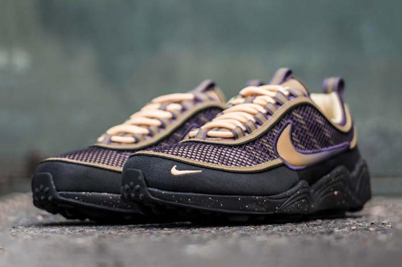 "Nike Zoom Spiridon ""Anthracite/Elemental Gold"" Release Date info Purchase"