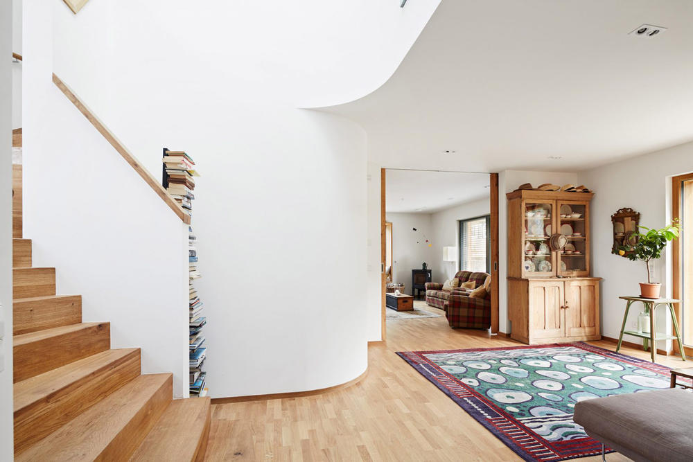 Nilsson Pflugfelder Prefabricated Wooden House R Baufritz Architecture Architect Buildings Residential UK home cambridge england