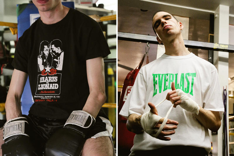 NOT / APPLICABLE Vintage Boxing Merchandise Ever Last Michele Lamy Selfridges Lamyland Evander Holyfield Riddick Bowe Lennox Lewis Vitali Klitschko