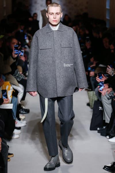 OAMC Fall/Winter 2018 Collection Runway Paris Fashion Week