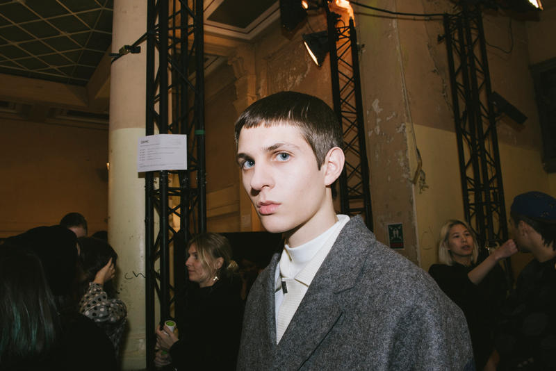 OAMC Fall/Winter 2018 Paris Backstage Imagery Over All Master Cloth Carhartt WIP