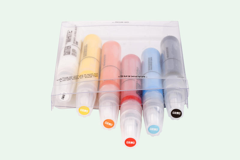 Off-White Grog Marker Set Release Virgil Abloh