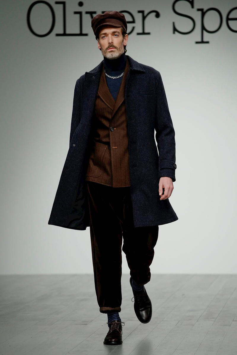 Oliver Spencer 2018 Fall Winter london fashion week, london fashion week mens, lfwm