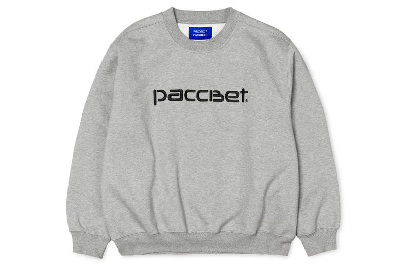 PACCBET Carhartt WIP Collaboration Collection Drop Release 2018 January 24 date info drops closer look