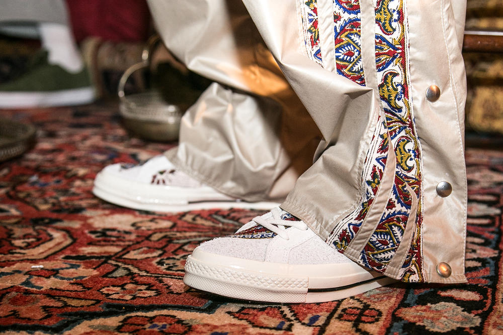 Paria Farzaneh 2018 Fall/Winter Presentation Converse One Star Mid Frank Ocean Iran