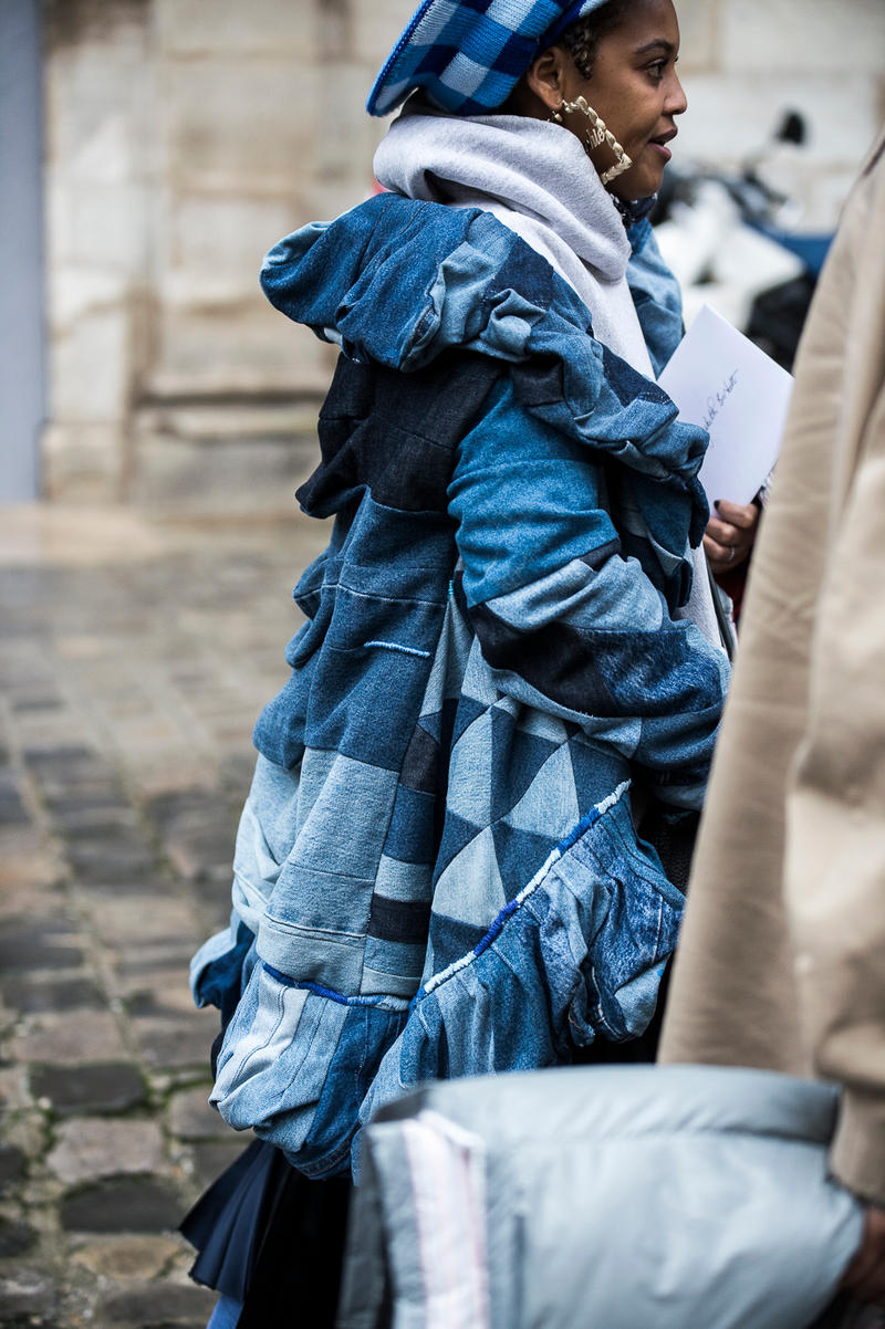 Paris Fashion Week Street Style FW18 Day 4 Bella Hadid Luka Sabbat