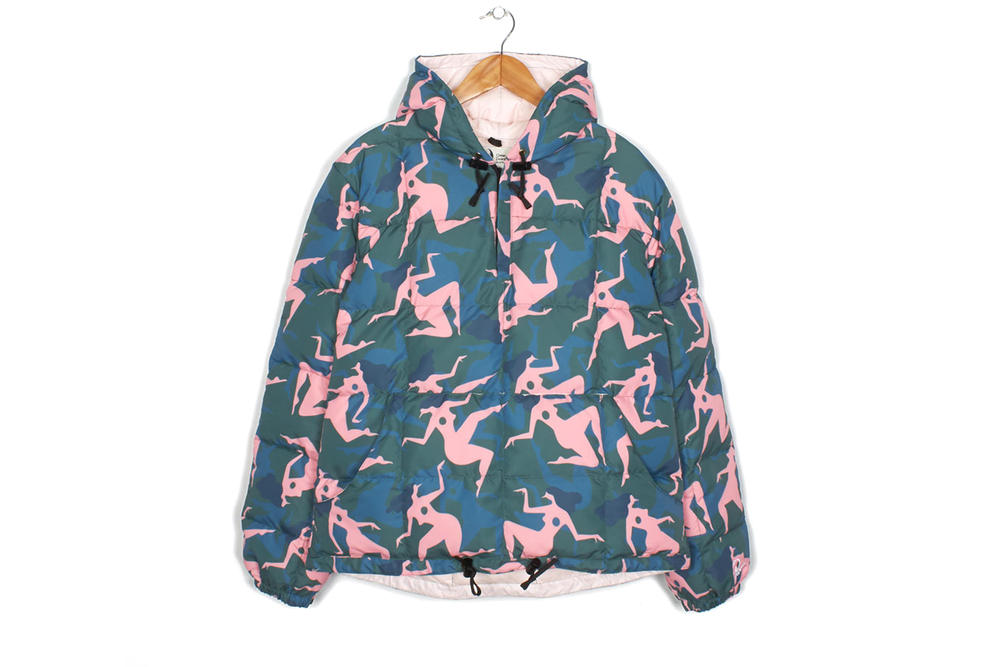 Parra Crescent Down Works Hooded Pullover Collaboration 2018 January Release Date Info coat jacket