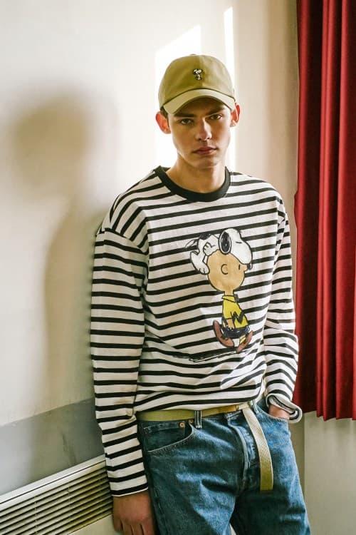 Peanuts STEREO VINYLS Collaboration 2018 Spring Summer Charlie Brown Snoopy Joe Cool