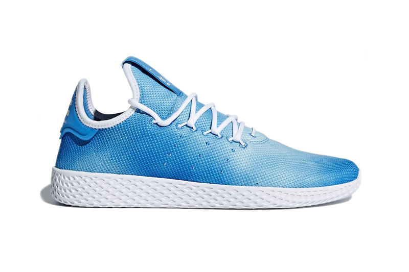 4d7efeed3 Pharrell adidas Tennis Hu Blue Green March 2 Release Pharrell Williams