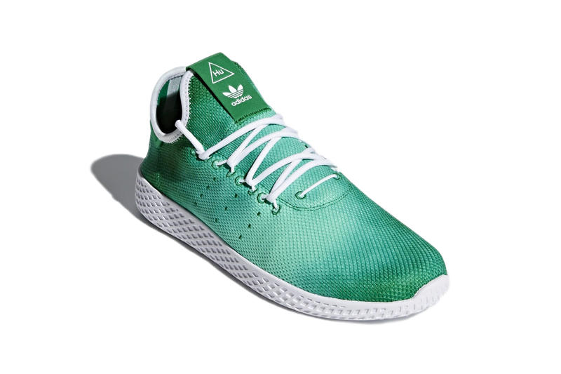 Pharrell adidas Tennis Hu Blue Green March 2 Release Pharrell Williams