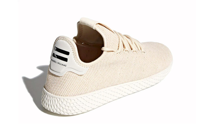 Pharrell Williams x adidas originals Tennis Hu light tan