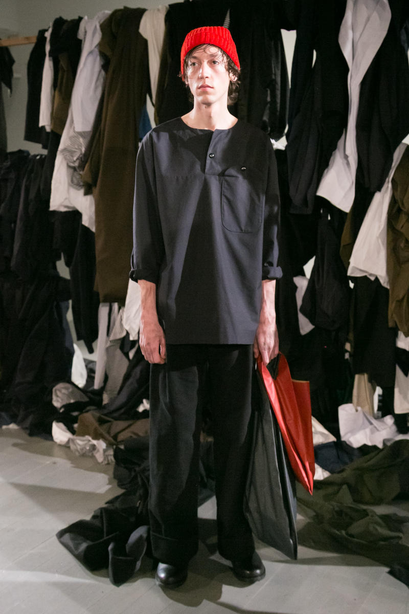 Phoebe English 2018 Fall/Winter Collection london fashion week london fashion week men's lfwm lfw:m london fashion week men's 2018 fall/winter