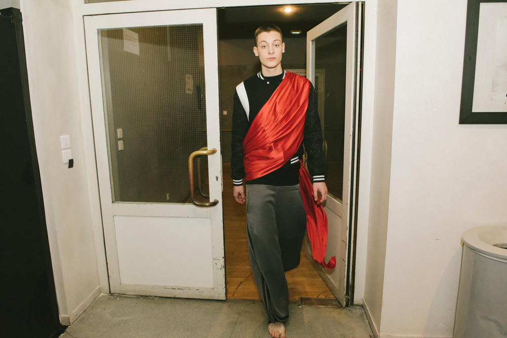 Pigalle 2018 Fall/Winter collection backstage ballet runway stephane ashpool