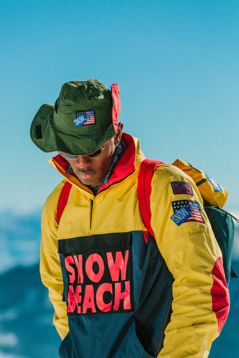01fe1033c28 Polo Ralph Lauren Snow Beach Fashion Clothing Outerwear Release Date Info  Drops January 25 February 1