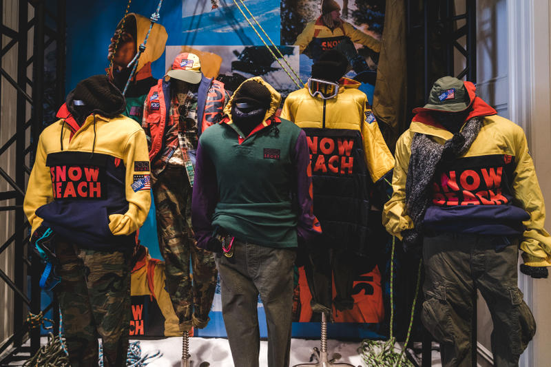 Polo Ralph Lauren Snow Beach Fashion Clothing Outerwear Lo Heads Lo Life Polo Bear Ski Gear Jackets Pullovers Vests Outerwear New York City