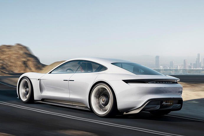 Porsche Mission E Tesla Elon Musk Model S Three Electric Cars Supercars