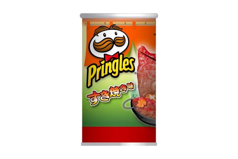 Pringles Sukiyaki Flavor Potato Chips Japan exclusive