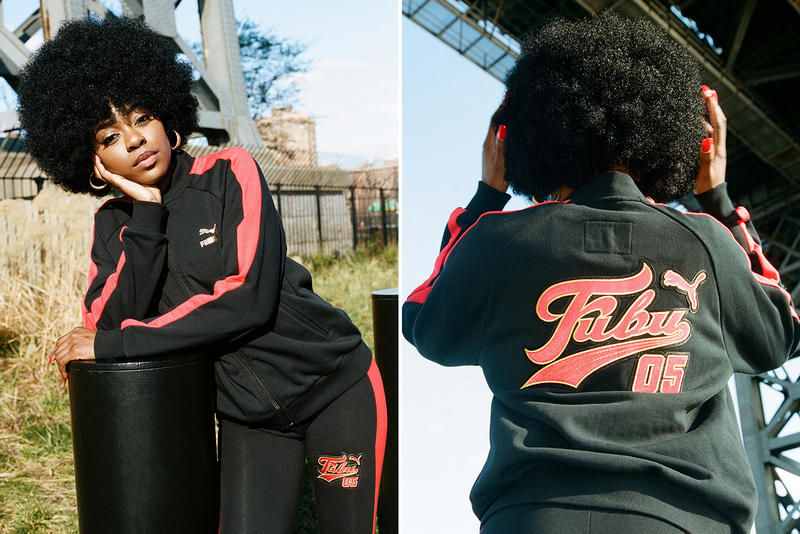 bbfcfe9a4da PUMA FUBU Spring Summer 2018 Collection Lookbook Track Suit Puma Classic  Suede