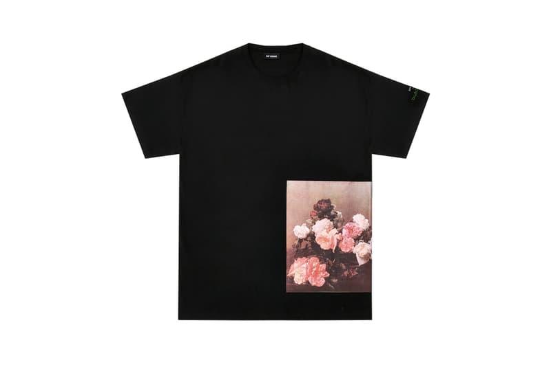 Raf Simons Joy Division New Order Ian Curtis Peter Saville Dover Street Market T-shirts Tees