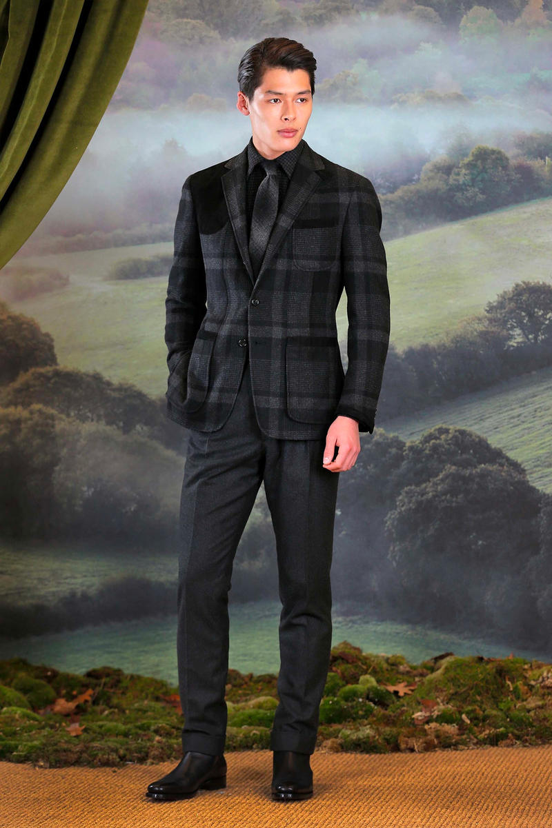 Ralph Lauren Purple Label Fall/Winter 2018 Collection milan fashion week presentation
