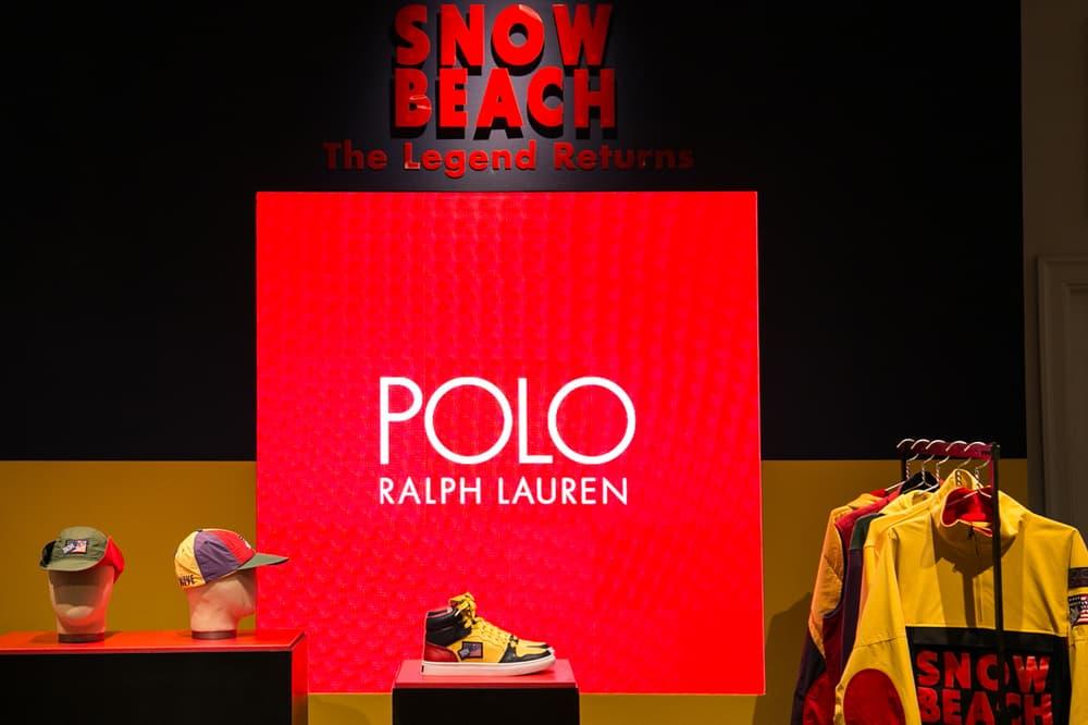 Polo Ralph Lauren Snowbeach Launch Selfridges London