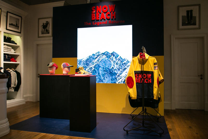 Polo Ralph Lauren Snowbeach Launch Selfridges London