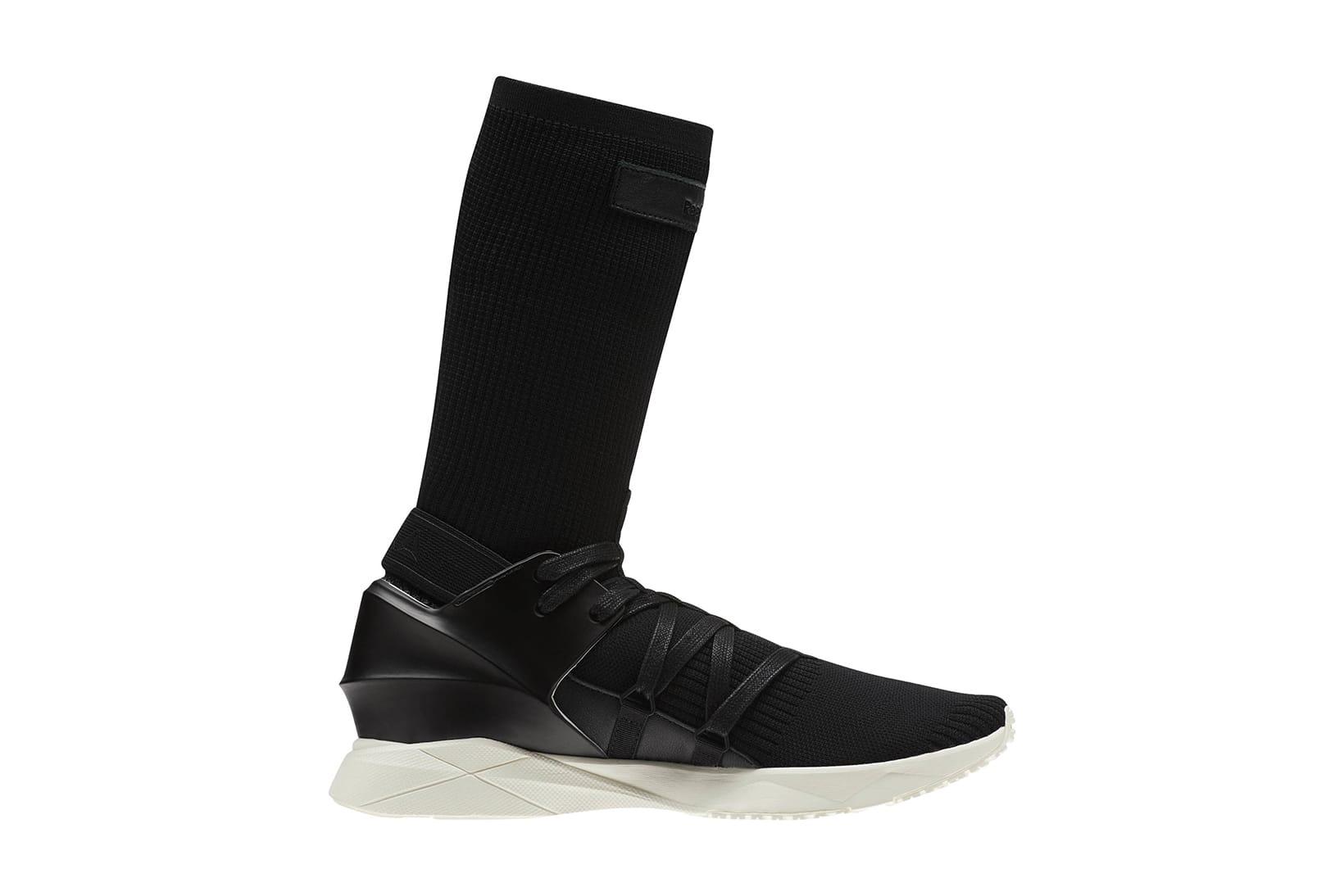 Reebok Sock Runner Caged in Black
