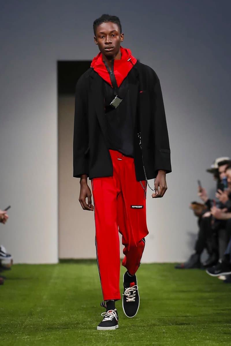 Represent 2018 Fall/Winter Collection milan fashion week men's