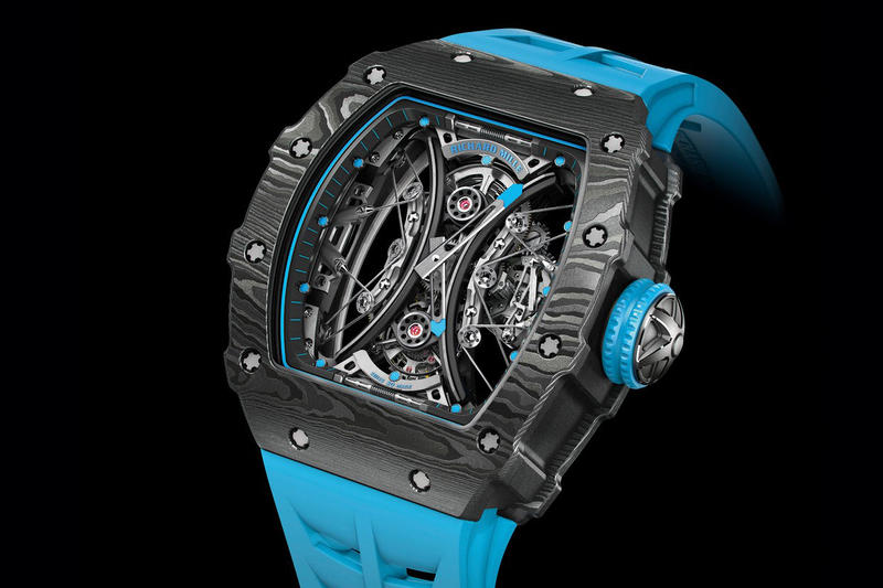 Richard Mille RM 53-01 Tourbillion Watch RM 56-02 Pablo Mac Donough