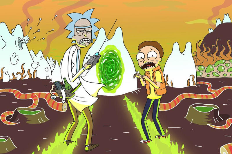 Rick and Morty Season 4 Adult Swim Cartoon TV Show