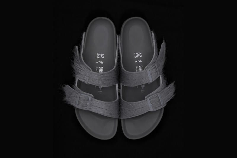 31573db8480 Rick Owens x Birkenstock Footwear Collaboration