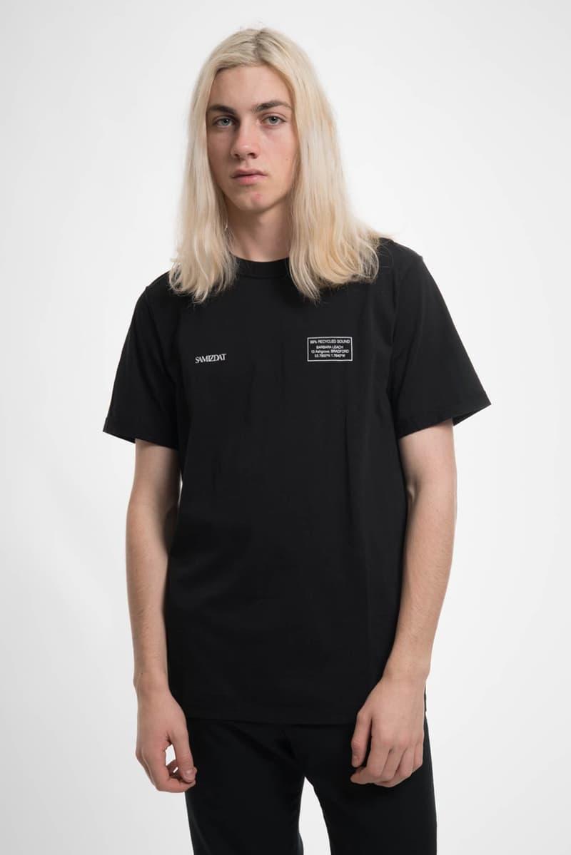 SAMIZDAT Yang Li Spring Summer 2018 Release T-Shirt Pins Patches Lighter Cap