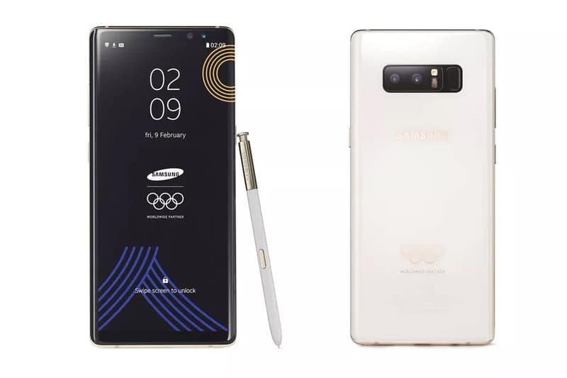 Samsung Galaxy Note 8 Winter Olympics Edition 2018 PyeongChang